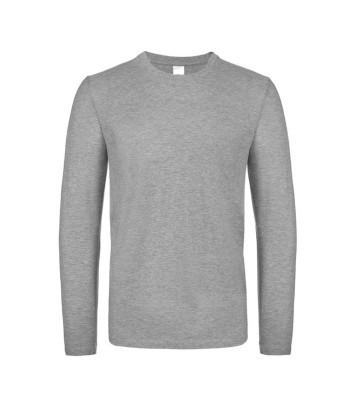 Langærmet Herre T-shirt -...