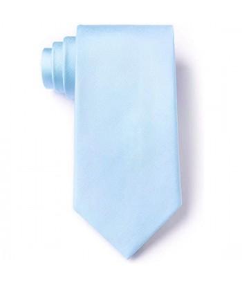 8 cm Lyseblå Slips - Ens...