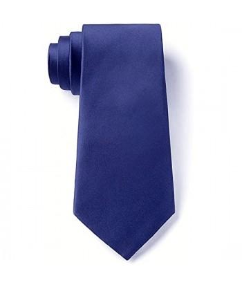 8 cm Mørkeblå Slips - Ens...
