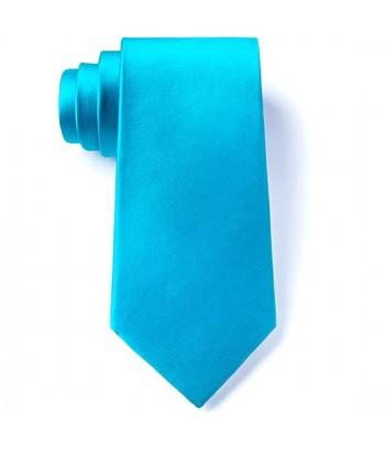 8 cm Turkis Slips - Ens Farvet