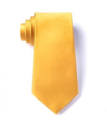 8 cm Gul Slips - Ens Farvet