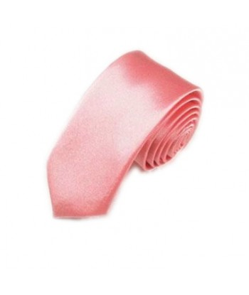 5 cm Lyserød Slips - Ens...