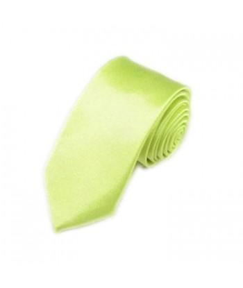 5 cm Neon Grøn Slips - Ens...