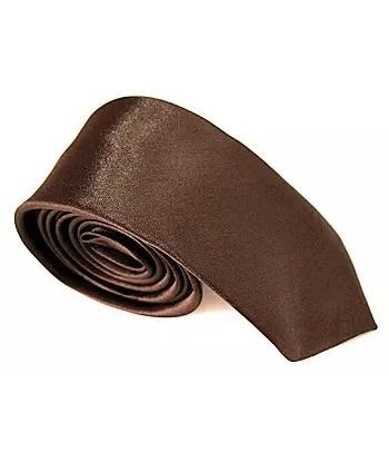 5 cm Brun Slips - Ens Farvet