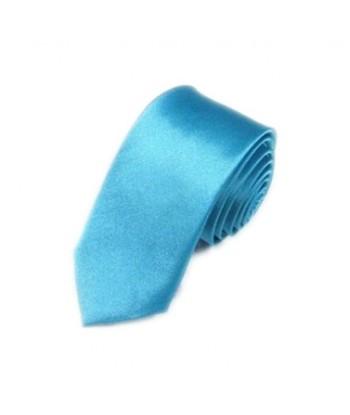 5 cm Turkis Slips - Ens Farvet