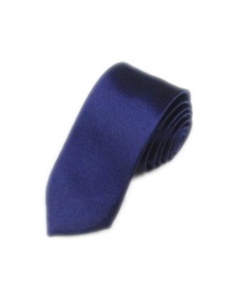 5 cm Mørkeblå Slips - Ens...
