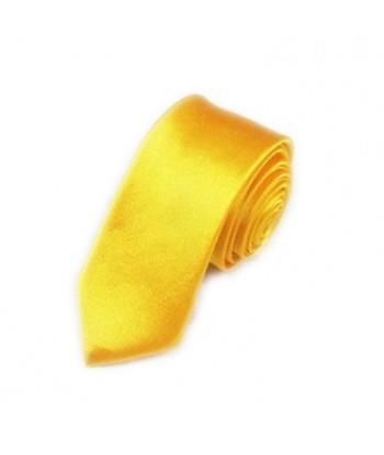 5 cm Gul Slips - Ens Farvet