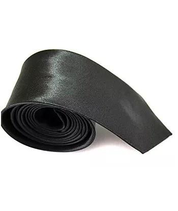 5 cm Mørkegrå Slips - Ens...